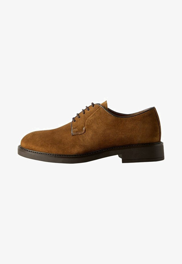 LEOLIGHT - Casual lace-ups - brown