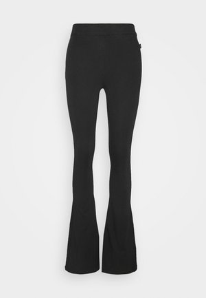 NOVA - Trousers - black crow