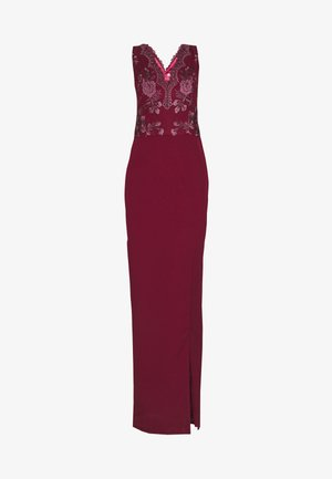 THALIA DRESS - Ballkjole - burgundy