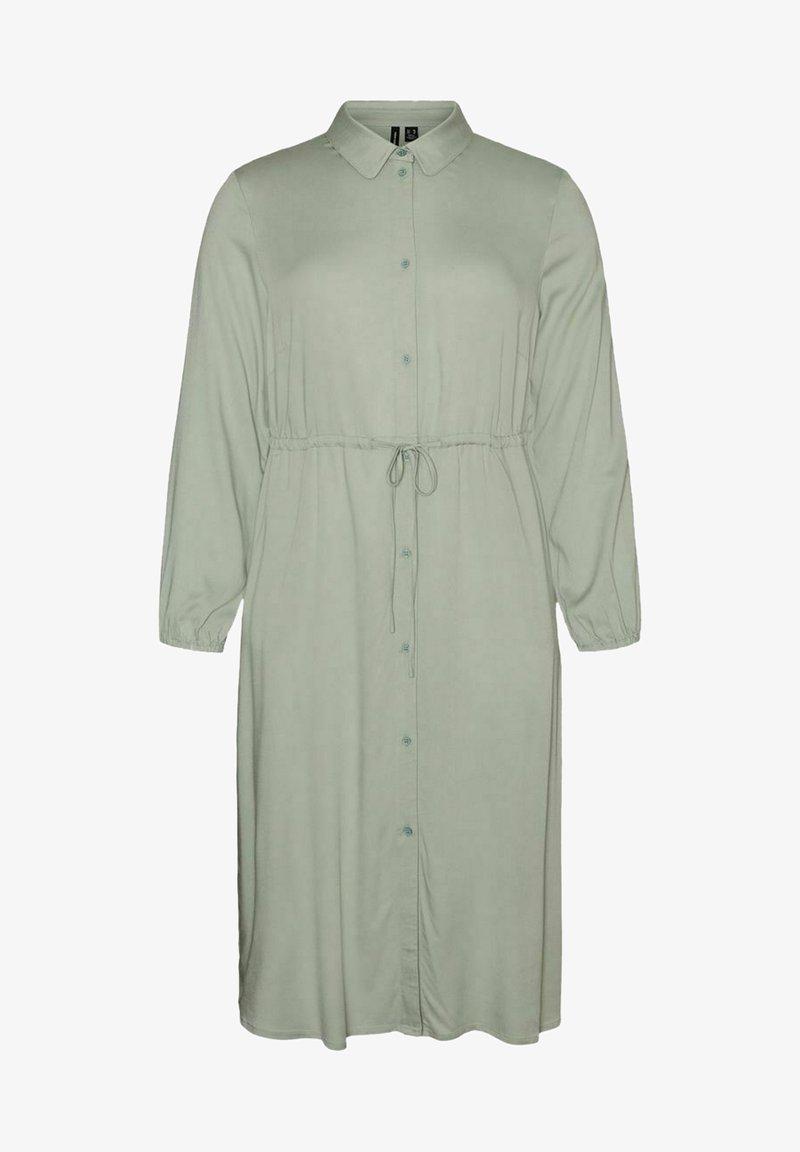 Vero Moda Curve - Shirt dress - jadeite