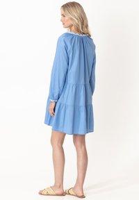 Indiska - ESTELLE - Korte jurk - blue - 2