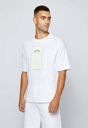 TALBOA - T-shirt imprimé - white
