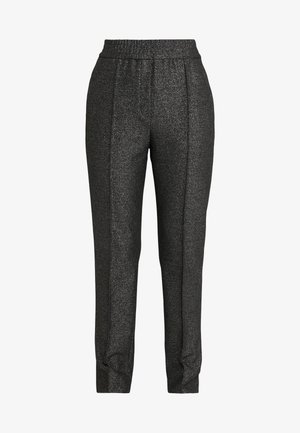 HEBANAS - Trousers - black