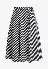 edc by Esprit - MIDI SKIRT - A-line skirt - navy - 3