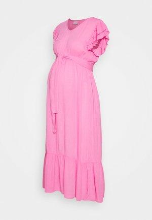 MLARISA CAP MIDI DRESS - Sukienka letnia - fuchsia pink