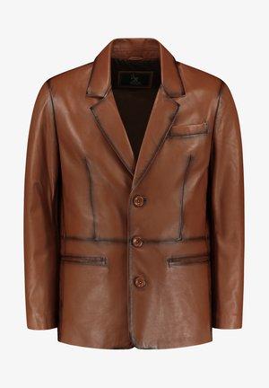 HYPE - Leren jas - burnt brown