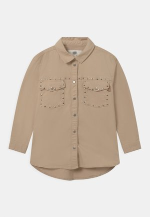 LAURA - Button-down blouse - hazel brown
