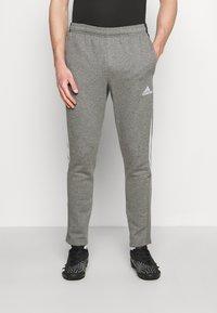 adidas Performance - TIRO - Tracksuit bottoms - grey - 0