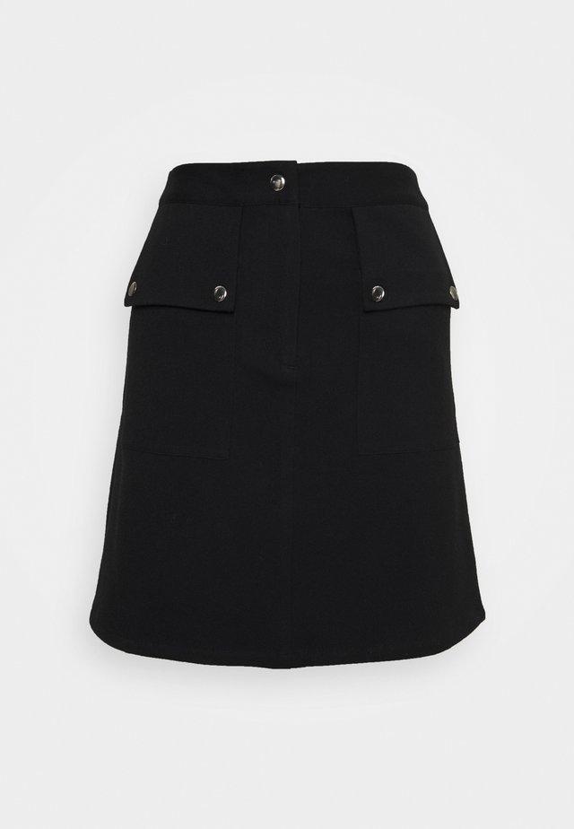 VMSIGRID SKIRT - Mini skirt - black