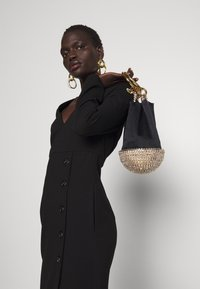 Pinko - ADLER ABITO PUNTO STOFFA - Jersey dress - black - 3
