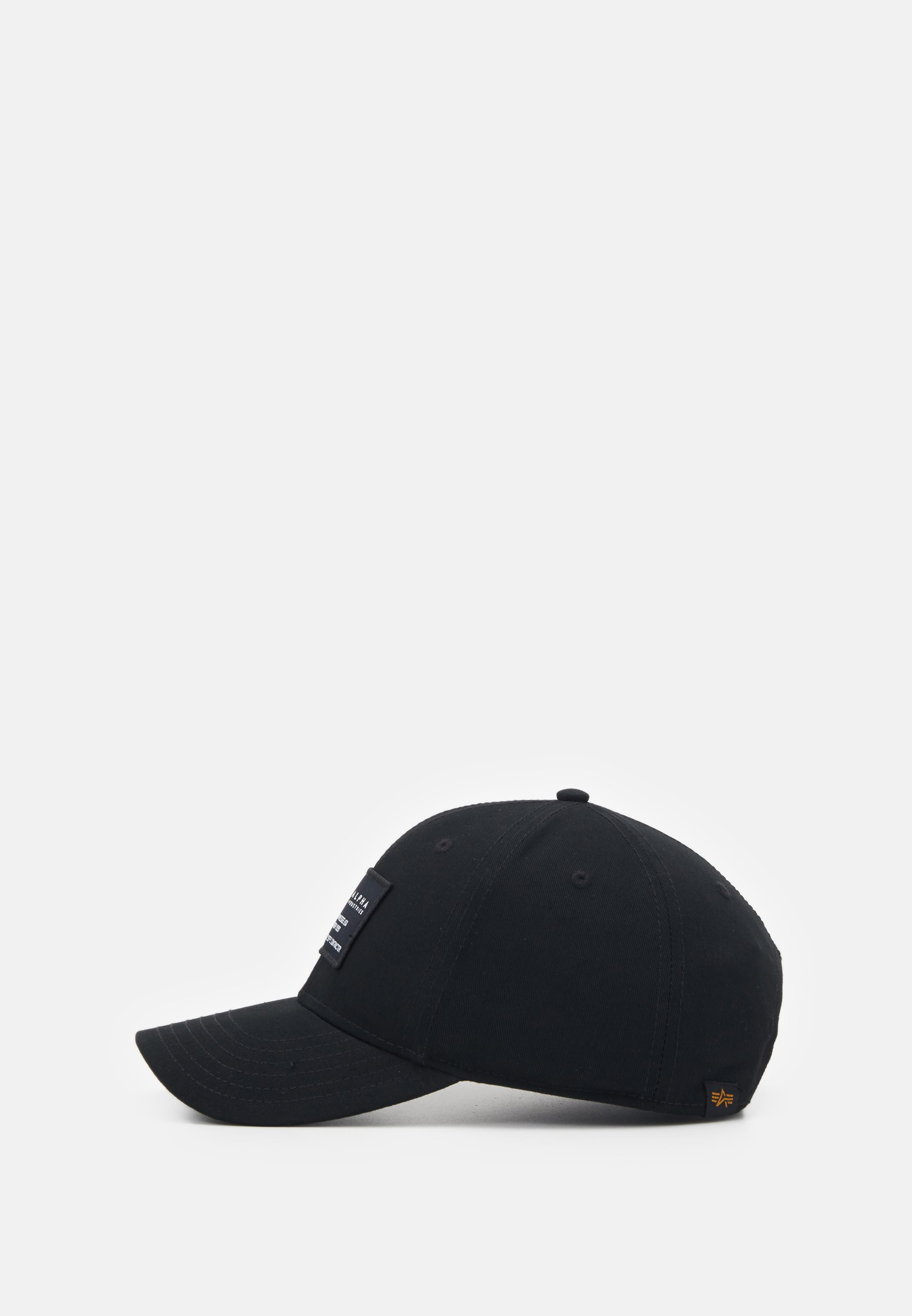 Alpha Industries Crew Cap - Black/schwarz