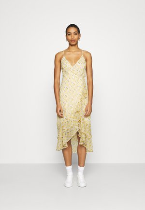 Day dress - white/yellow