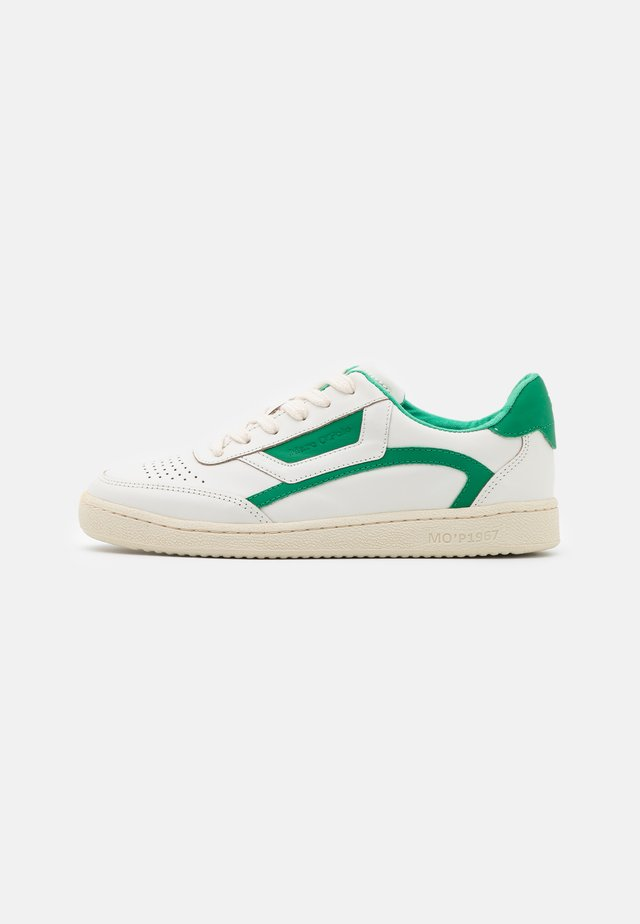 COURT - Sneakers laag - offwhite/green