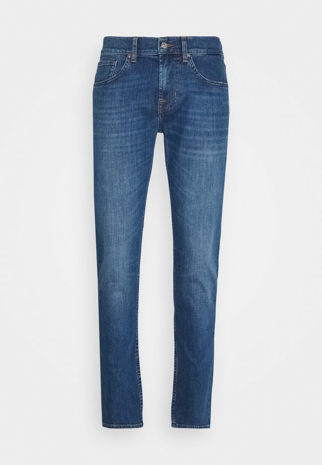 SLIMMY TAPERED CRASH  - Jeans fuselé - light blue