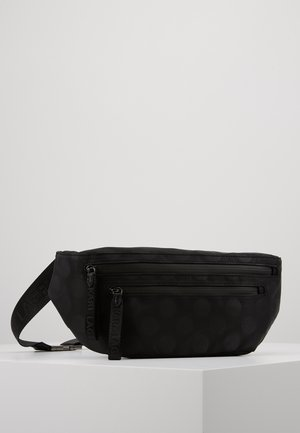 CARINE BUMBAG POLKA  - Bum bag - black