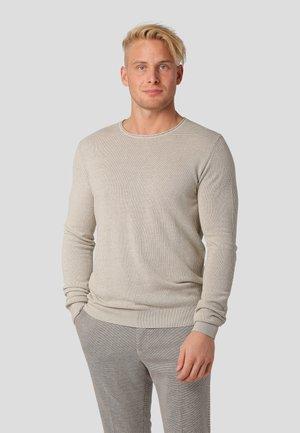 MODENA - Stickad tröja - bubbly beige