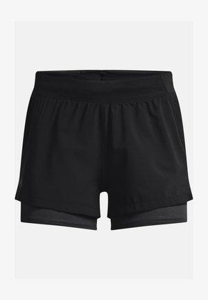2-IN-1 - Pantaloncini sportivi - black