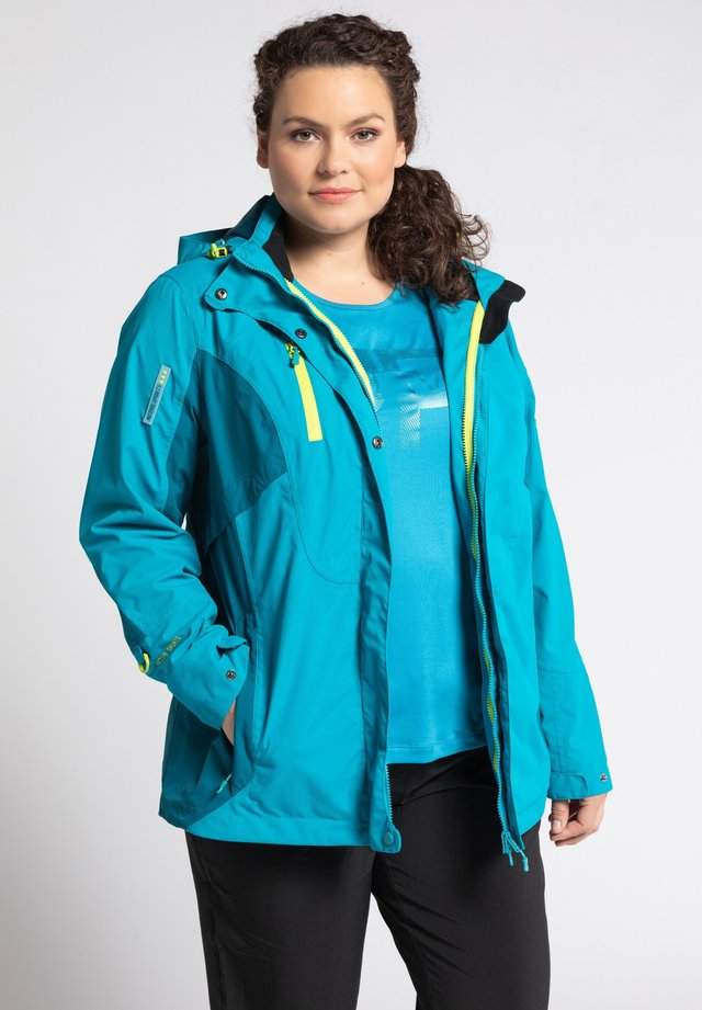 Soft shell jacket - türkis