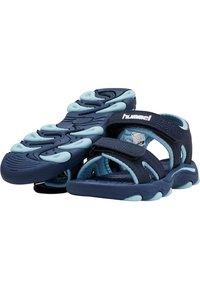 Hummel - WAVE - Walking sandals - black iris - 1