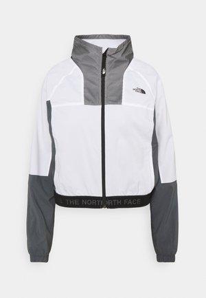 WIND JACKET - Summer jacket - wihite/vanadis grey