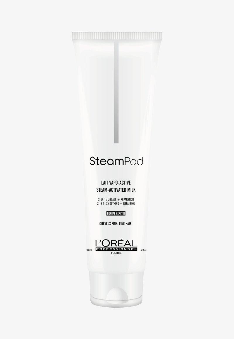 L'Oréal Professionnel - STEAMPOD AUFBAUENDE GLÄTTUNGSMILCH FEINES HAAR - Hair treatment - -
