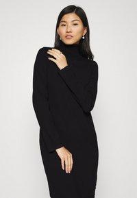 Marc O'Polo - DRESS TURTLE NECK - Jumper dress - black - 3