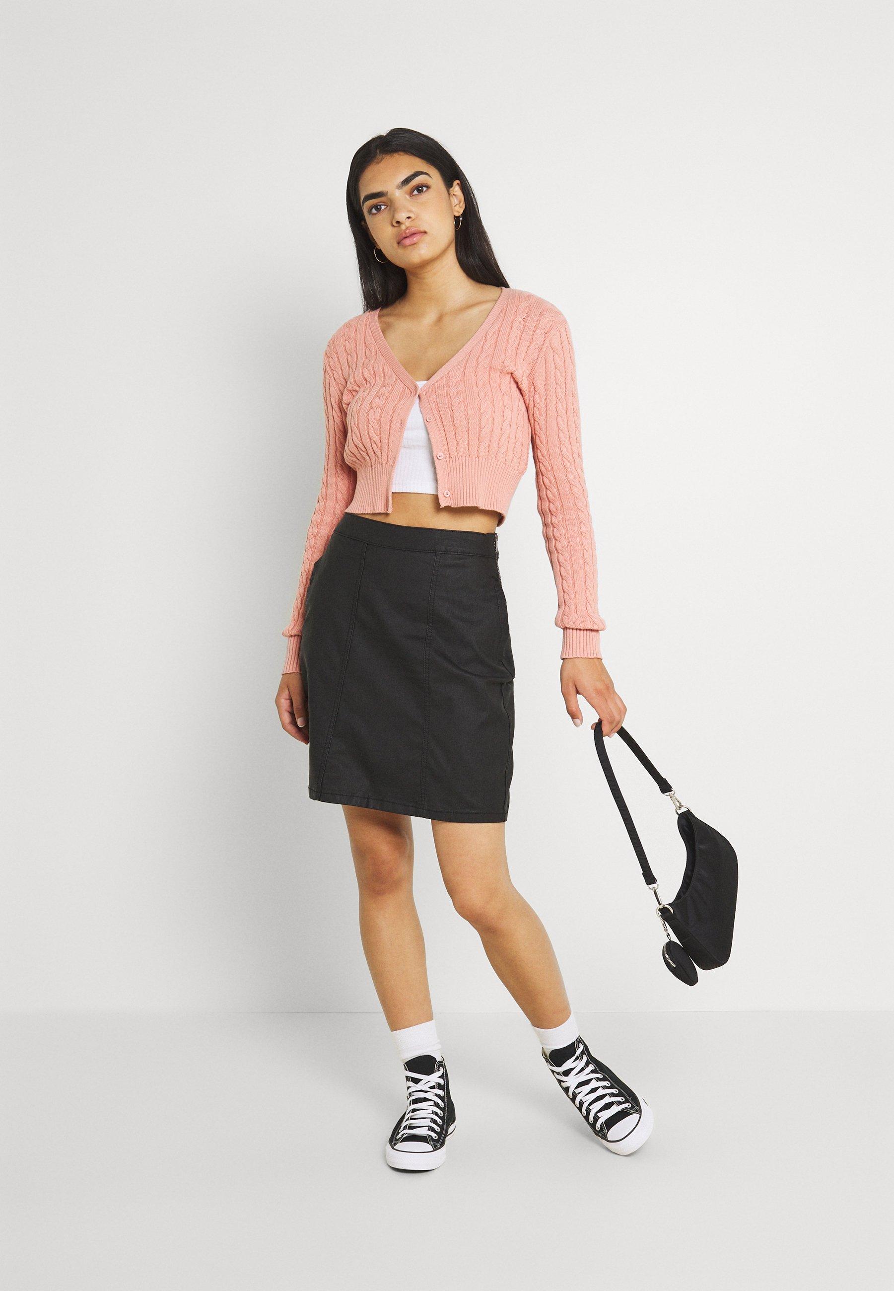 Mujer NMPERI SKIRT - Minifalda