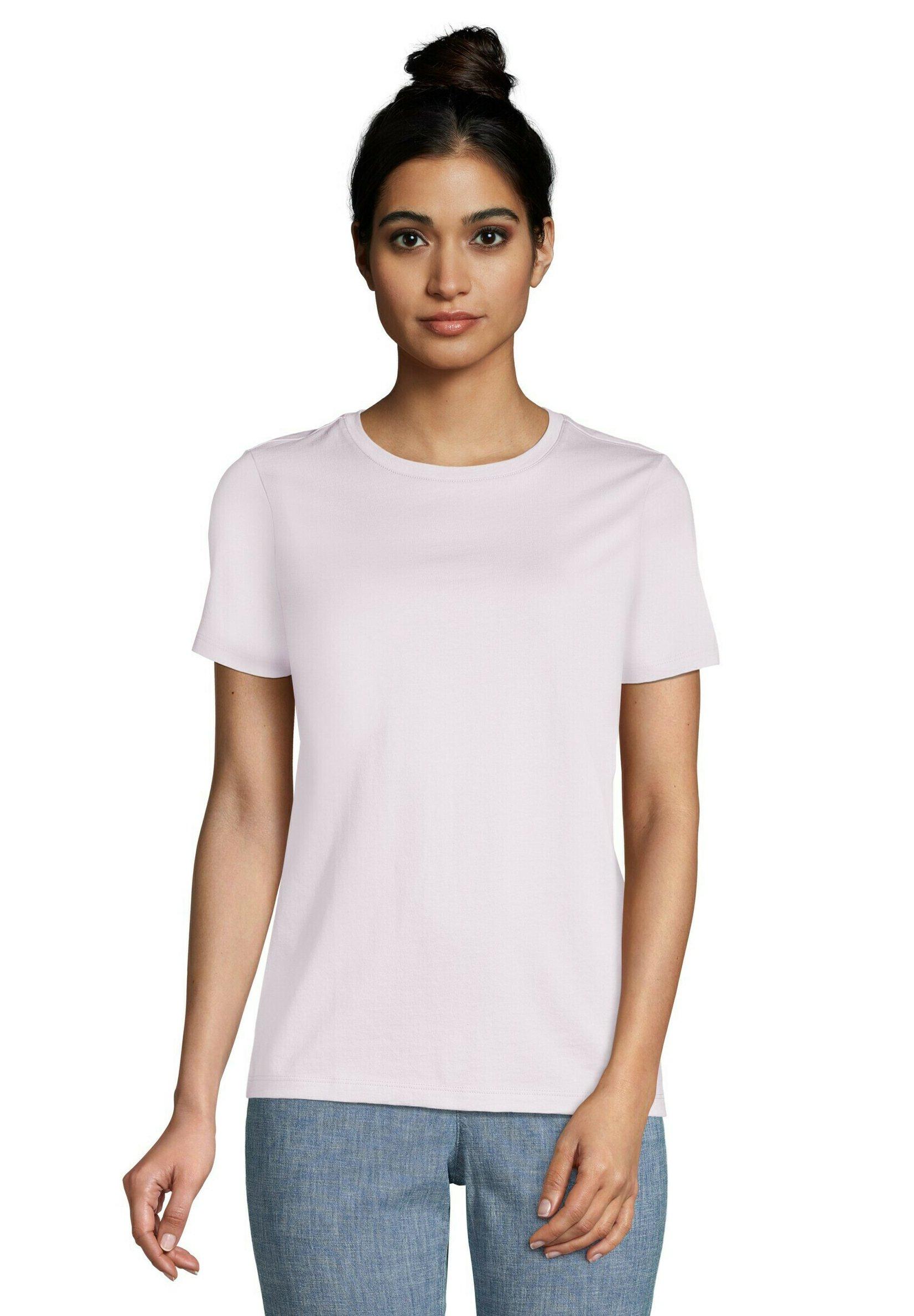 Damen T-Shirt basic - soft iris purple