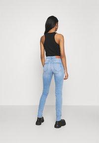 Noisy May - NMLUCY - Skinny džíny - light blue denim - 2