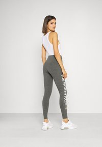 The North Face - SLOGAN - Leggings - Trousers - medium grey heather