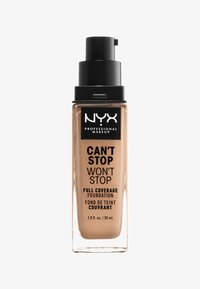 Nyx Professional Makeup - CAN'T STOP WON'T STOP FOUNDATION - Foundation - 10 buff - 0