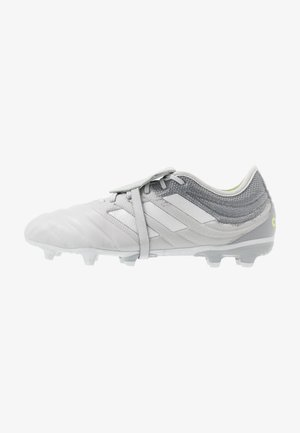 COPA GLORO 20.2 FG - Moulded stud football boots - grey two/silver metallic/solar yellow