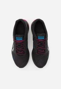 Reebok - LAVANTE TERRAIN - Trail running shoes - black/horizon blue/white - 3