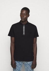 Versace Jeans Couture - PLAIN - Polo shirt - nero - 0