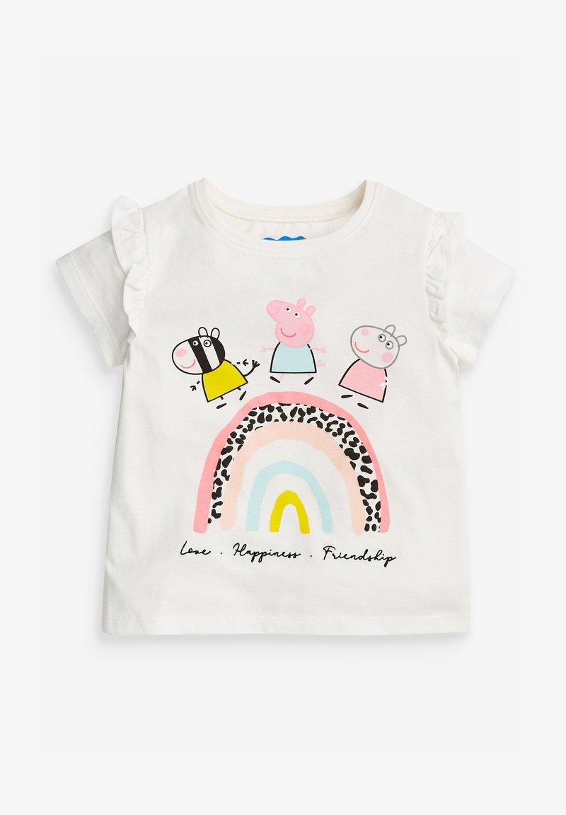 Next - PEPPA PIG RAINBOW  - Print T-shirt - grey