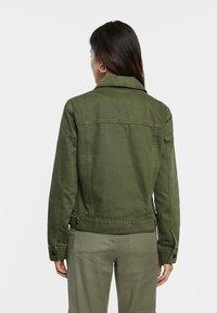 Desigual - Kurtka jeansowa - green - 2