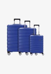 Bric's - SET 3 - Luggage set - blue - 0