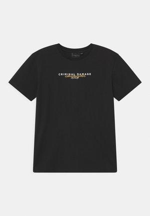 BARB SPINE  - T-shirt print - black