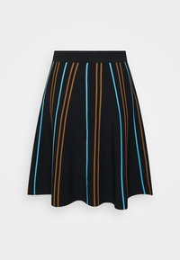 Nümph - NULILLI PILLY SKIRT - Plisséskjørt - caviar - 1