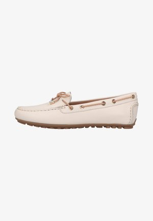 Boat shoes - off white/sand