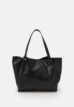 BOAT MATTE - Shopping bag - black