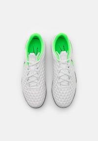 Nike Performance - TIEMPO LEGEND 8 ACADEMY TF - Astro turf trainers - platinum tint/rage green - 3