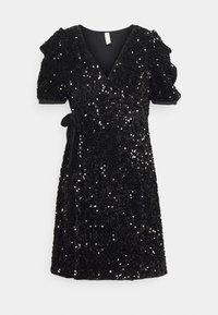 YAS Petite - YASSEQUELLA WRAP DRESS SHOW - Cocktail dress / Party dress - black - 0