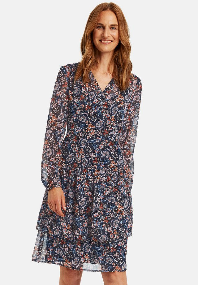 MIT PAISLEYMUSTER - Day dress - navy sienna druck