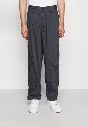 COLOMBO WIDE - Cargo trousers - blue slate