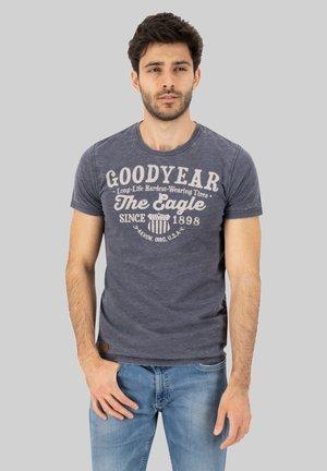 MONTICELLO - Print T-shirt - dark navy