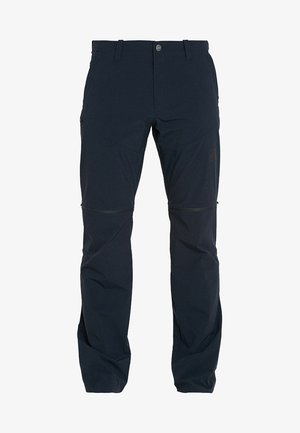 RUNBOLD ZIP OFF - Outdoorbroeken - black