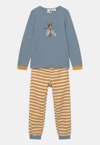 Cotton On - NOAH UNISEX - Pyžamová sada - orange/blue - 0