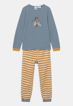 NOAH UNISEX - Pyjama set - orange/blue