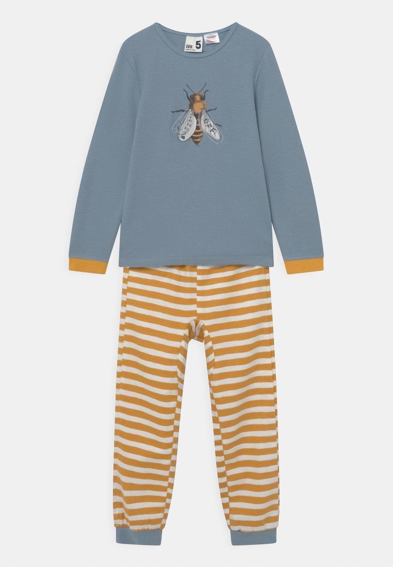 Cotton On - NOAH UNISEX - Pyžamová sada - orange/blue